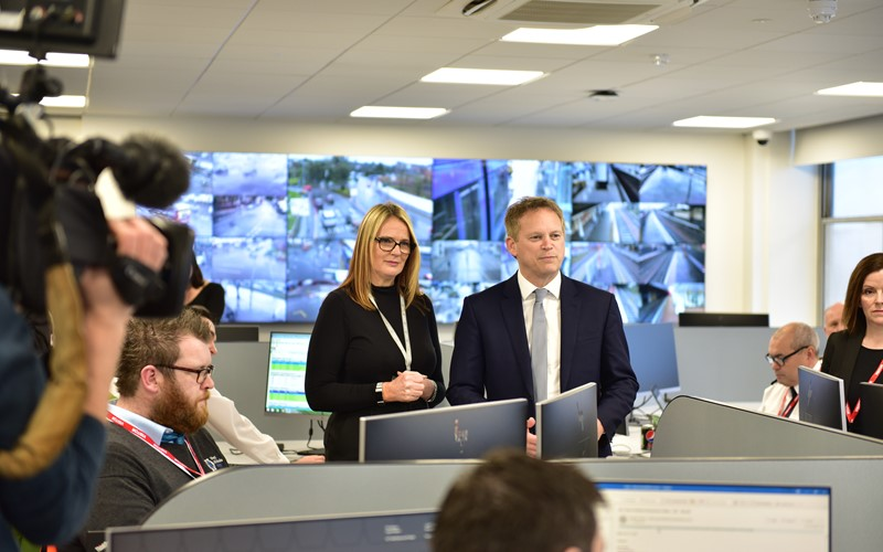 Transport Secretary officially opens congestion busting transport centre for the West Midlands