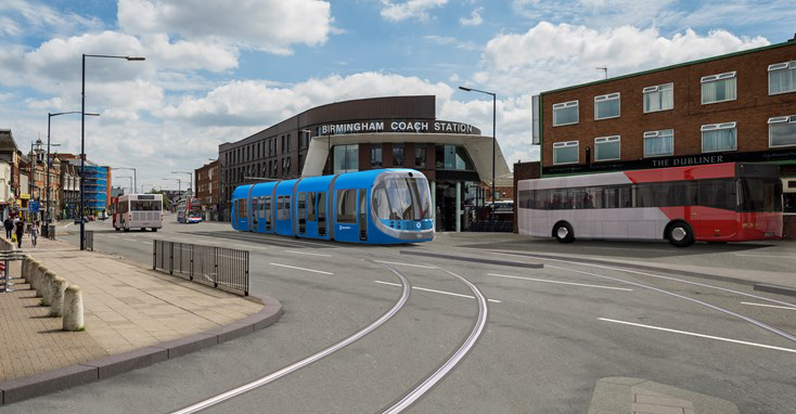 WMCA Board set to approve Birmingham Eastside Metro extension