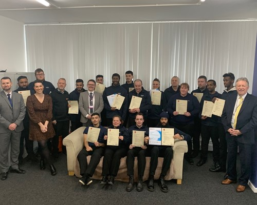 Nineteen people start new careers in security sector thanks to skills funding from WMCA
