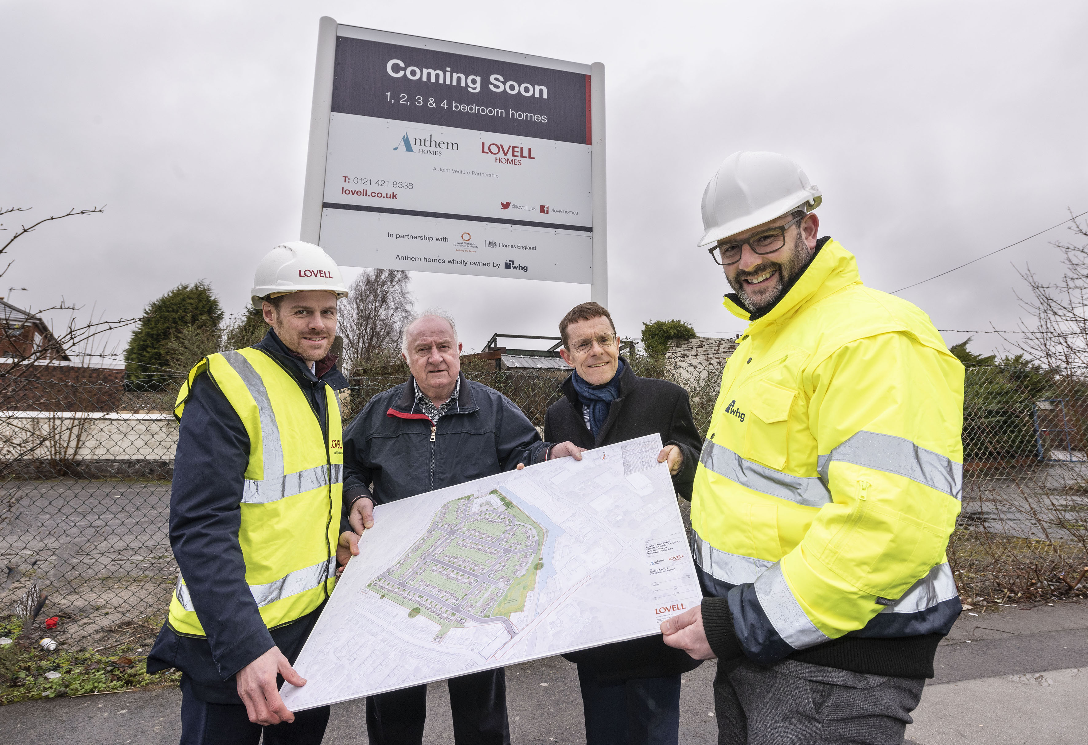 WMCA announces multi-million-pound investment to transform derelict steelworks into 252 home community