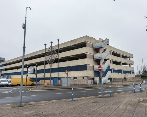 WMCA helps kickstart regeneration of West Bromwich town centre with car park demolition