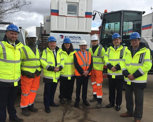 Jobs and skills for local people at new construction hub in Coventry