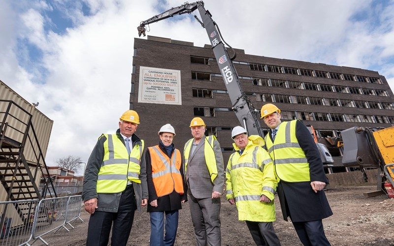 Demolition of Dudley eyesore gets underway as part of a £250m pipeline of investment into region's town and city centre