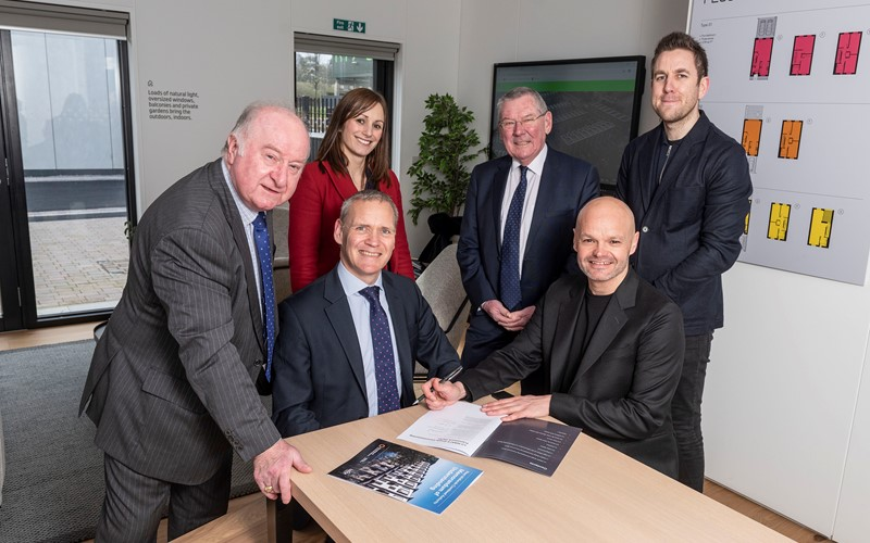 Partnership deal will deliver 10,000 high quality homes across the region