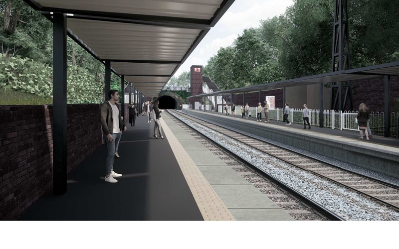 Planning application for Moseley railway station submitted