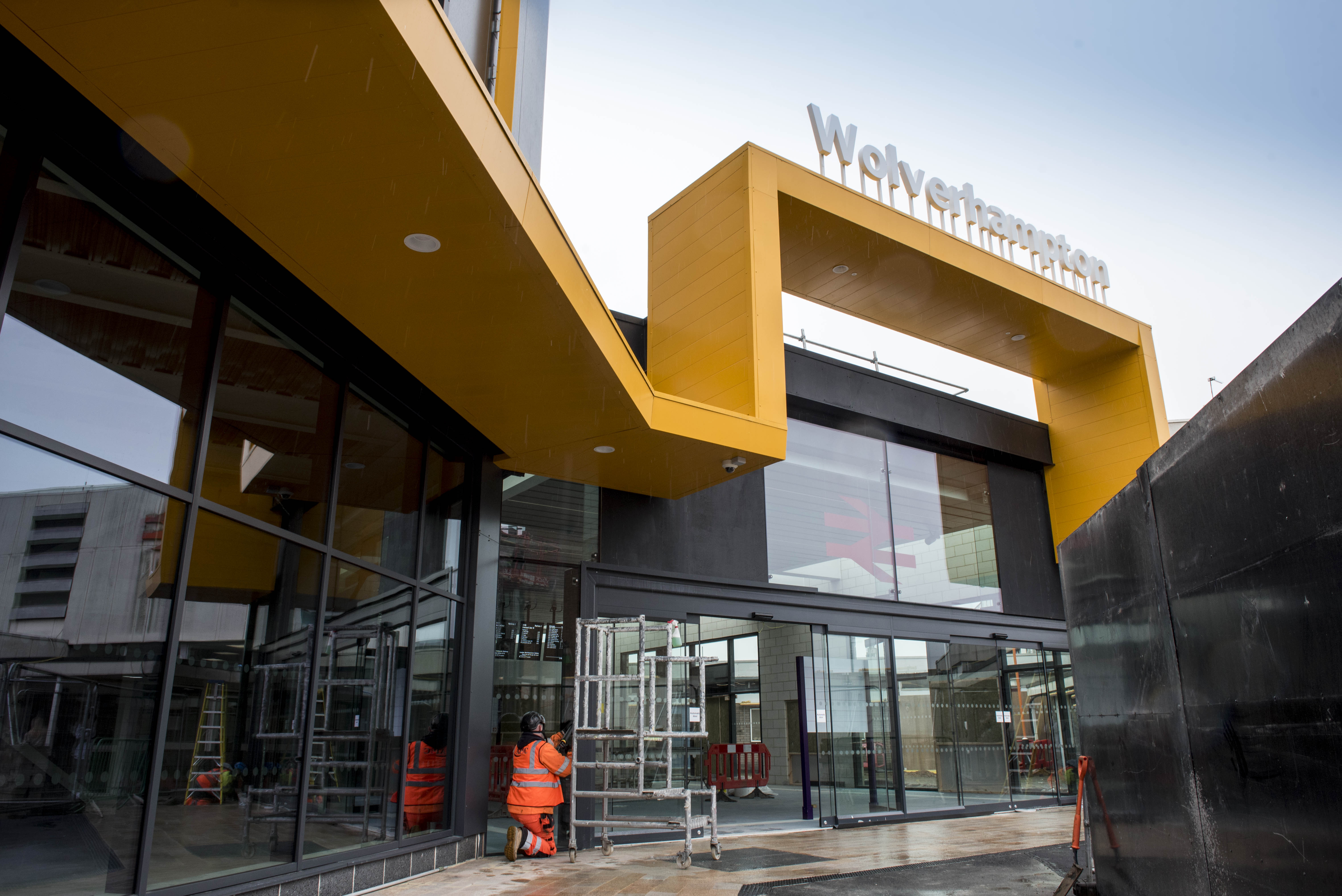 Phase one of Wolverhampton's new railway station set to open
