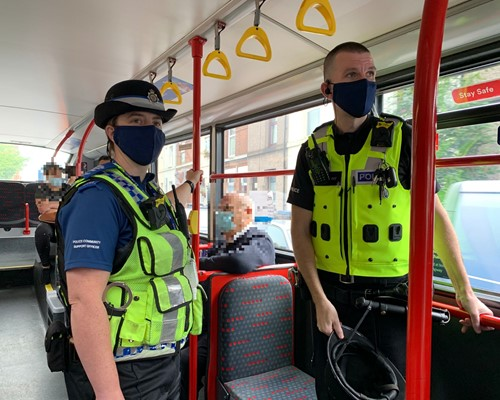 Clampdown on bus, train and tram passengers not wearing face coverings