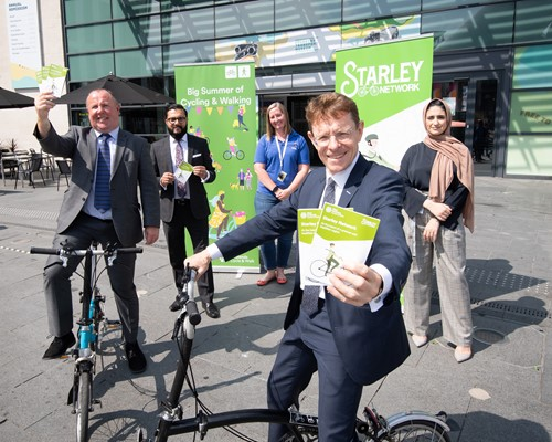 West Midlands to receive a further £13 million for cycling and walking