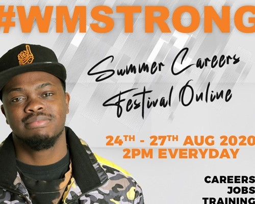 WMCA holds online summer careers festival for young people to find out more about their options