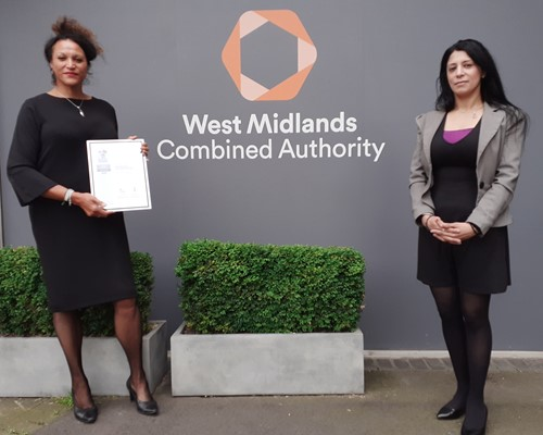 West Midlands Combined Authority praised for its support of armed forces employees