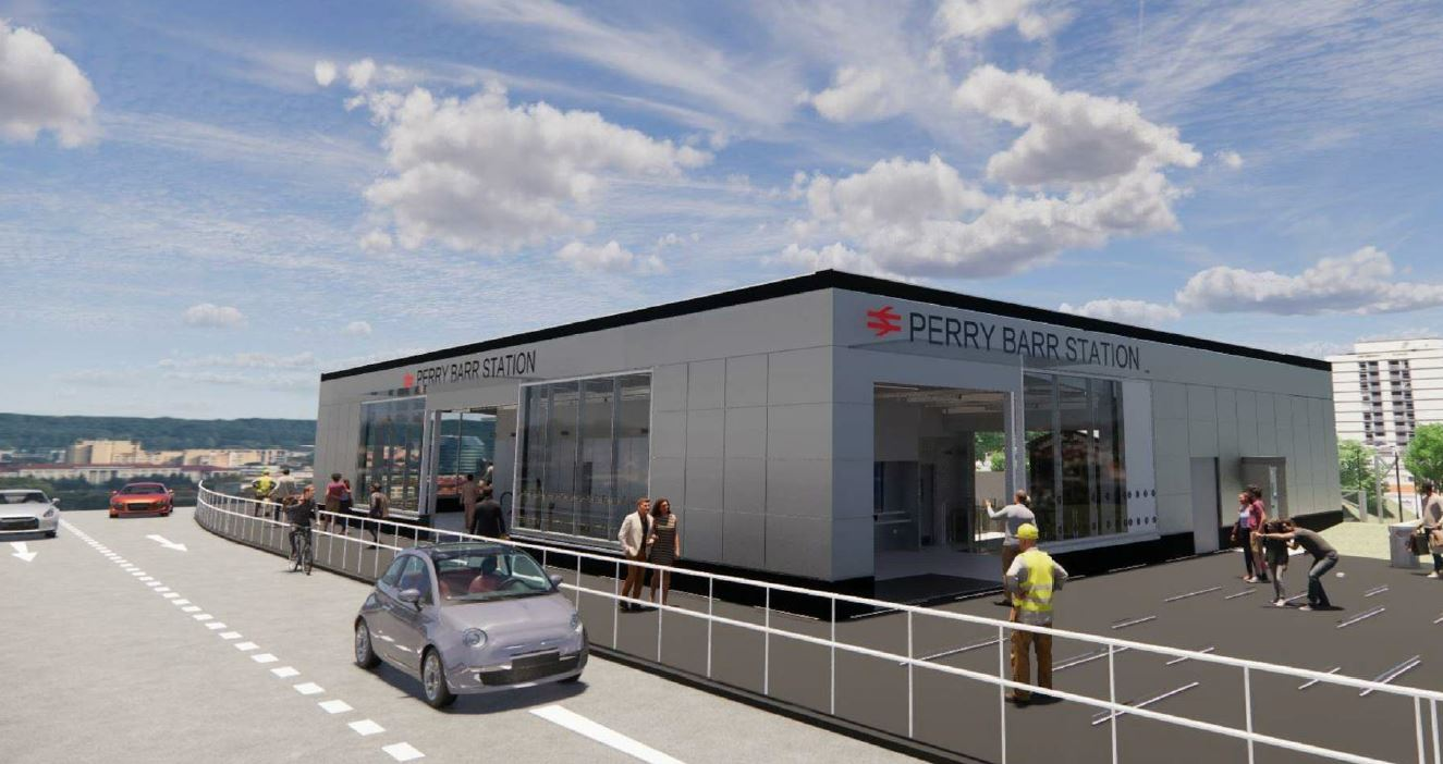 New designs for Perry Barr Railway Station unveiled