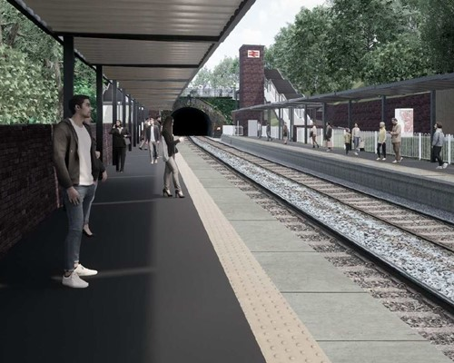 Planning permission granted for new Moseley Railway Station