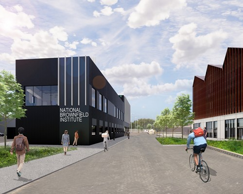 New £17m National Brownfield Institute moves closer as planning application submitted