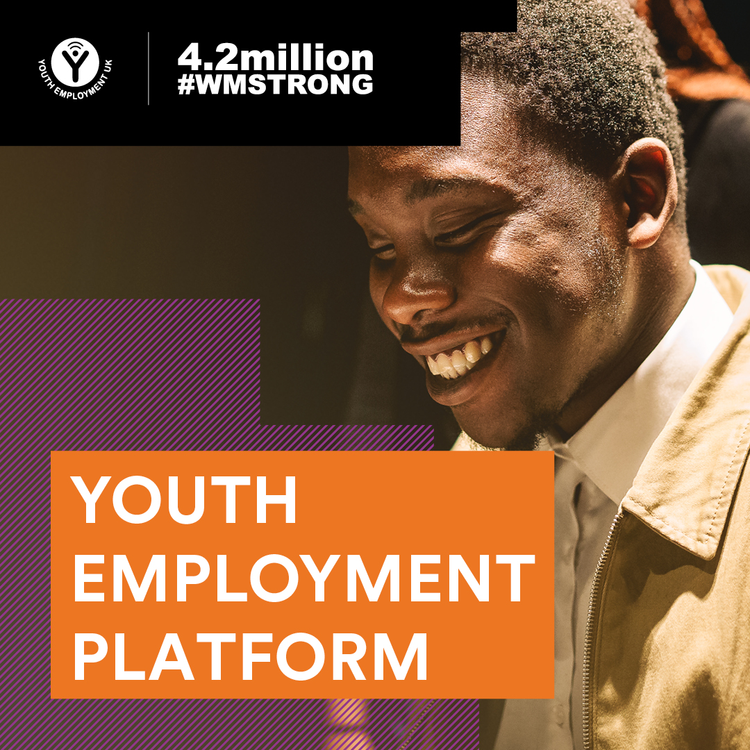 Youth employment platform advert