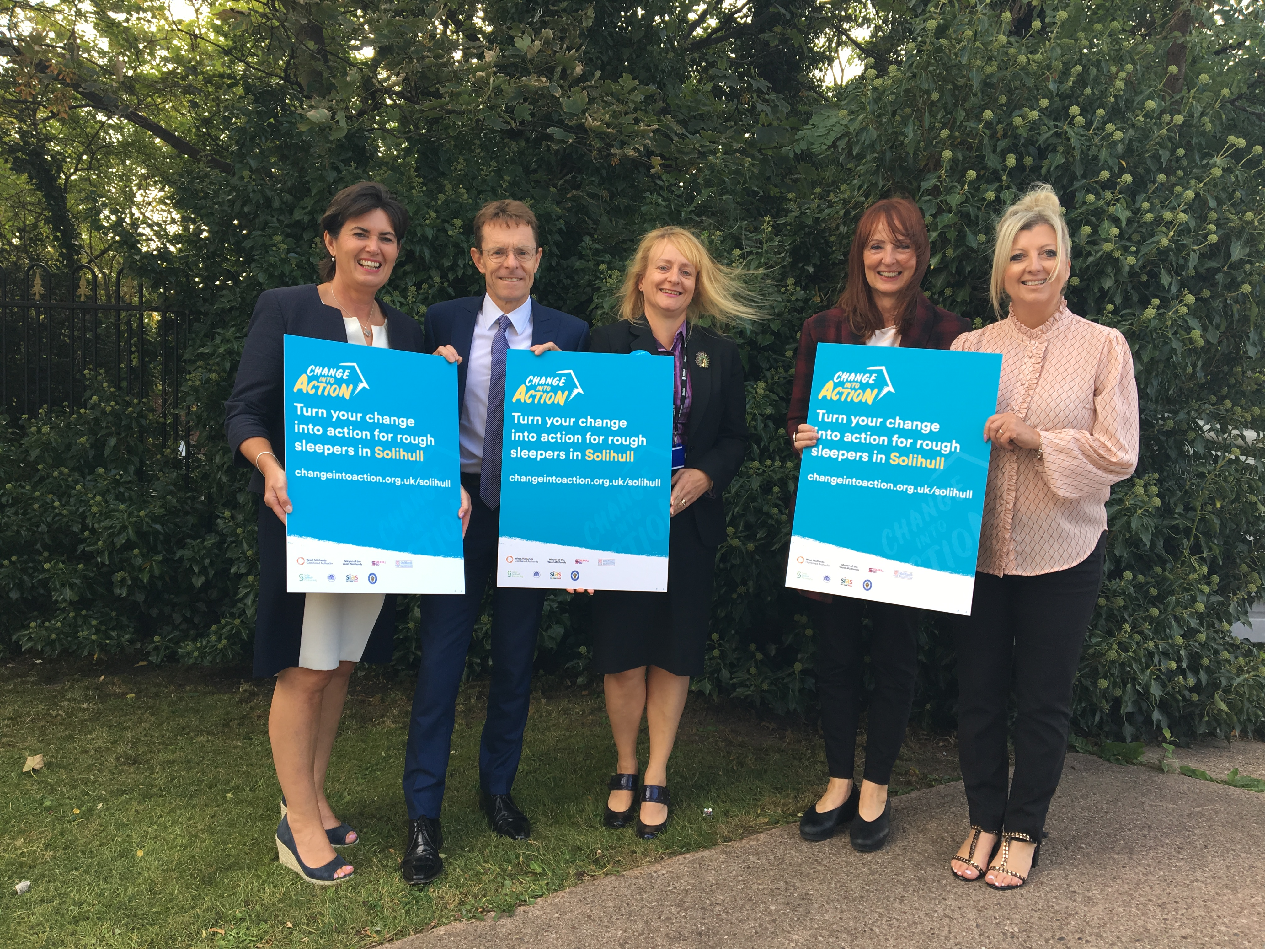 World Homeless Day – Solihull puts Change into Action