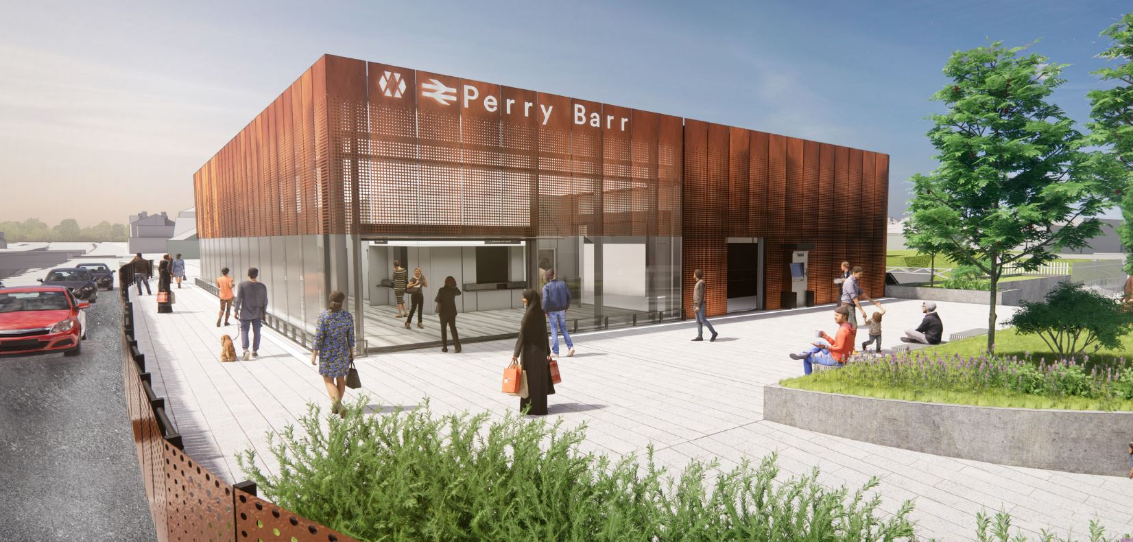 Designs for new Perry Barr railway station revised following feedback