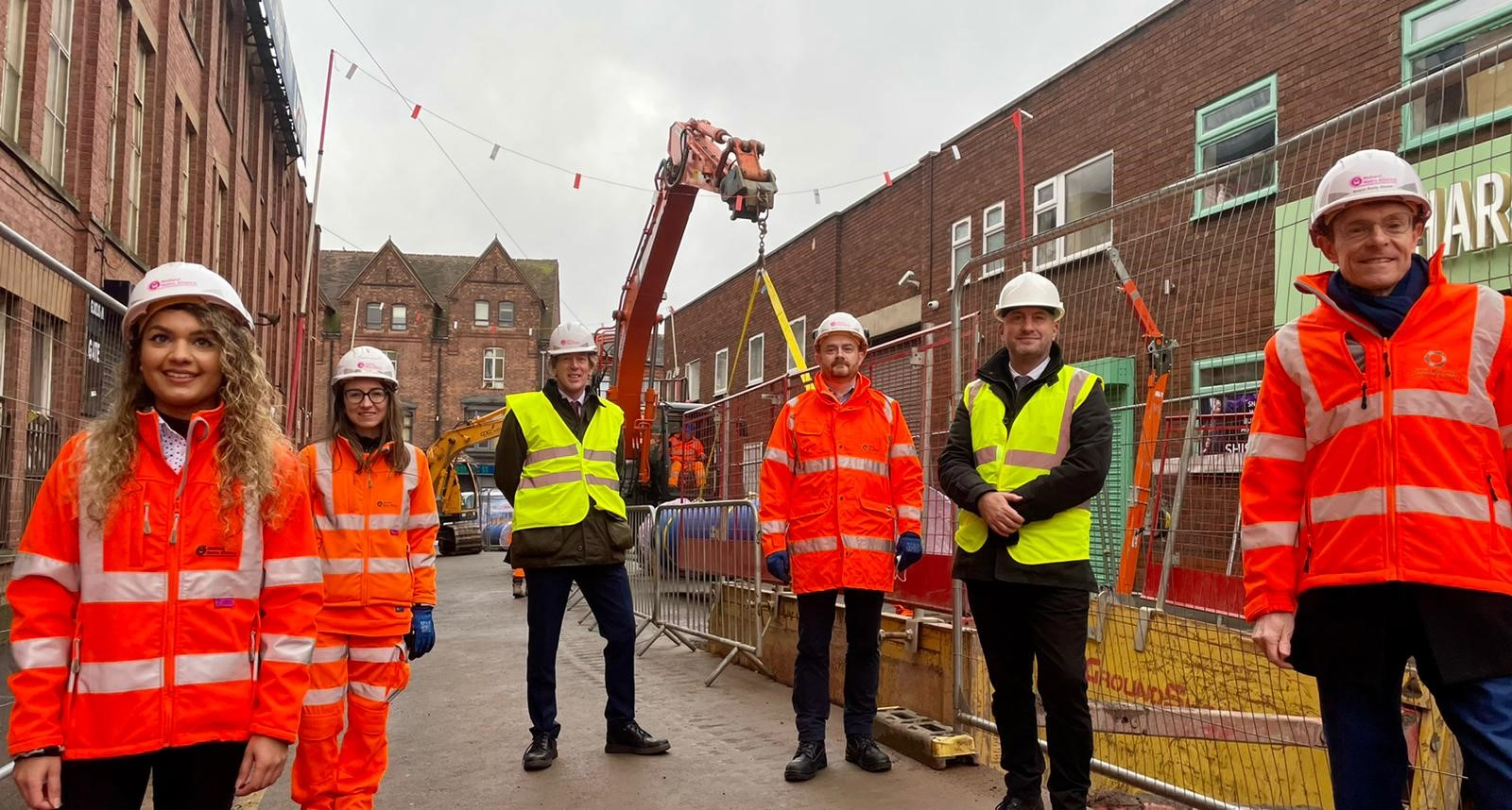 Metro extension to the Digbeth moves closer as utility diversions well-underway