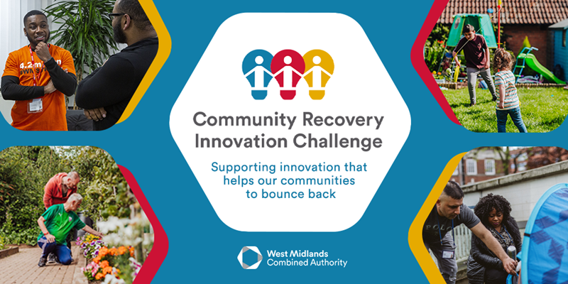 Community Recovery Innovation Challenge banner image