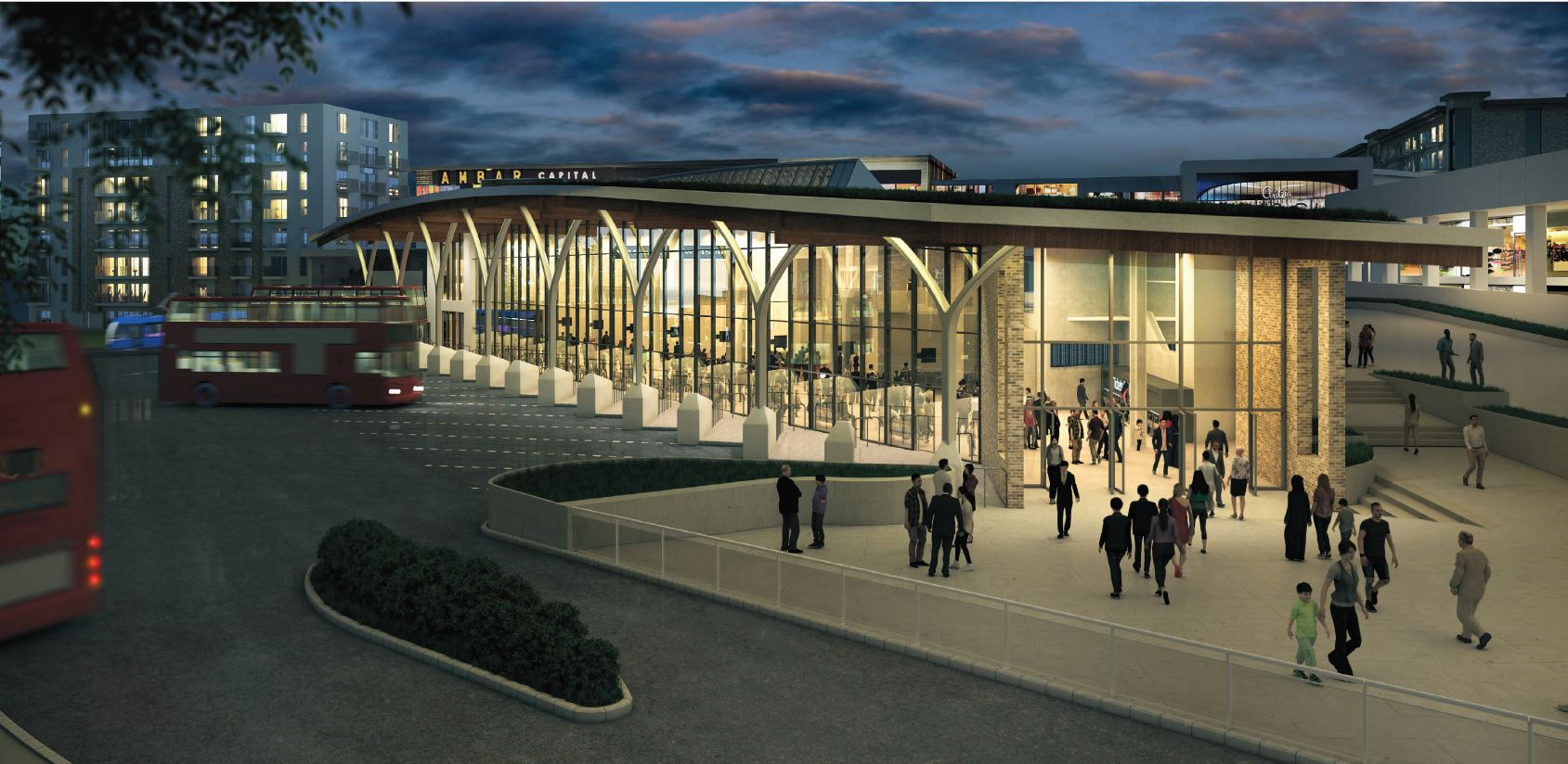 New images released as Dudley's new bus and Metro interchange is given the green light