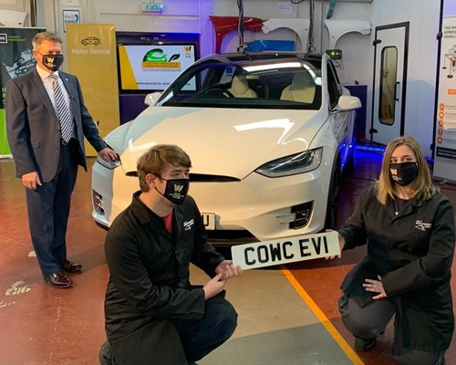 New centre to train local people to work on electric vehicles opens in Wolverhampton