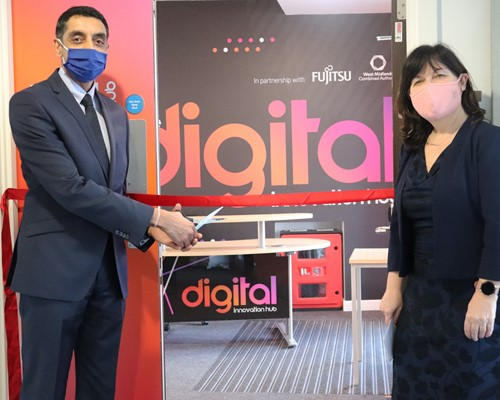 Digital innovation hub opens to help Walsall residents learn new skills