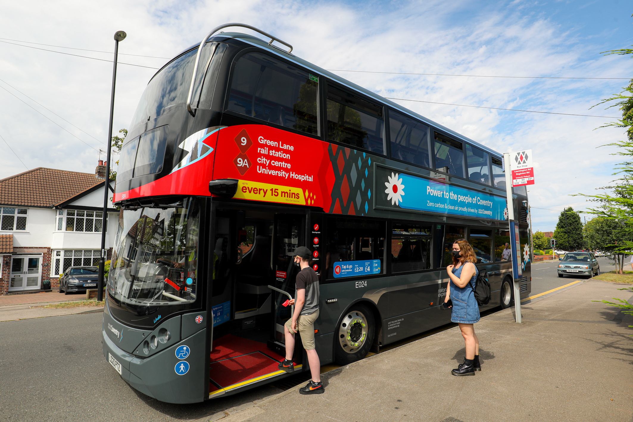 Green light for Coventry to become UK's first £50m All Electric Bus City